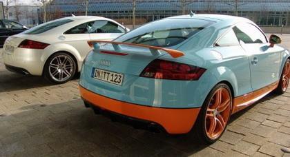 Audi TT Quattro Sport Gulf