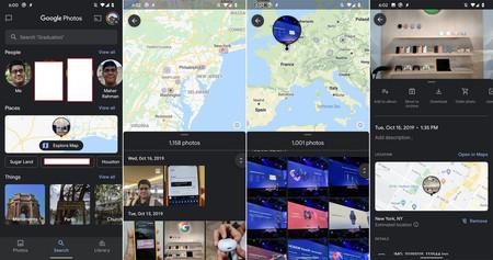 Google Fotos 4 52 Explore Map Xda
