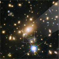 El Hubble nos muestra la estrella más lejana que hemos descubierto: Icarus