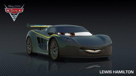 Lewis Hamilton tendrá su cameo en Cars 2
