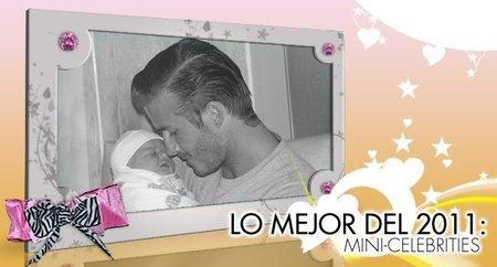 Lo mejor del año 2011 en Poprosa: embarazos y mini-celebrities, los famosos del futuro