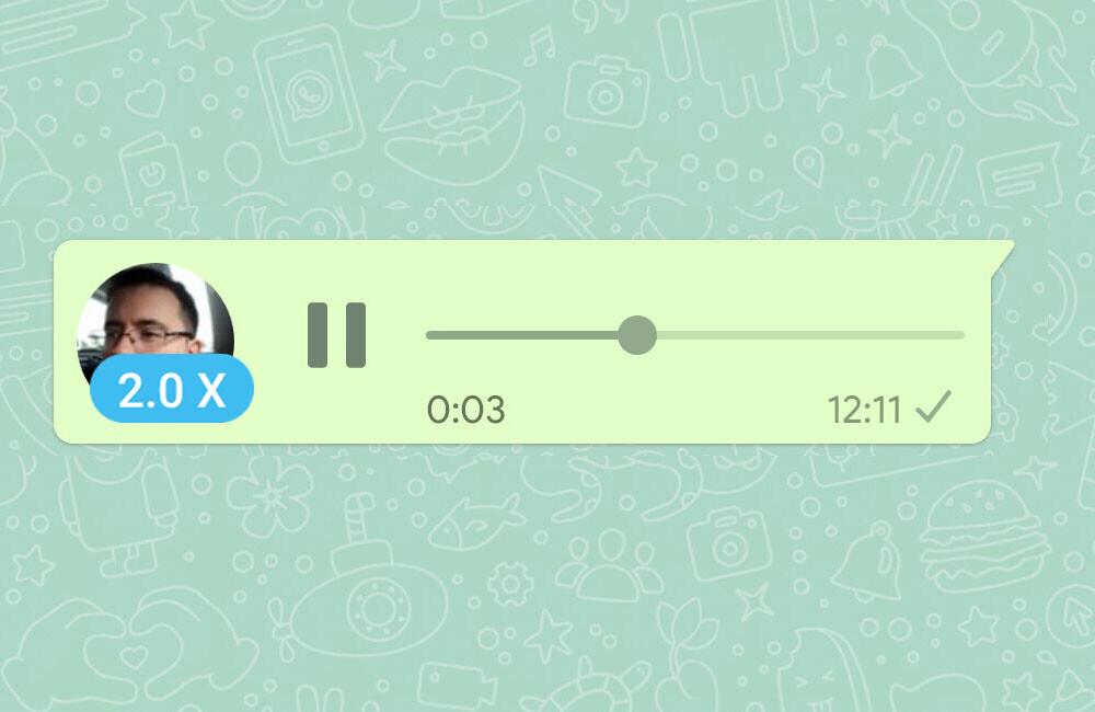 WhatsApp ya permite reproducir audios a distintas velocidades: así funciona