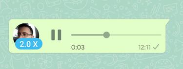 WhatsApp ya permite acelerar los audios: así funciona