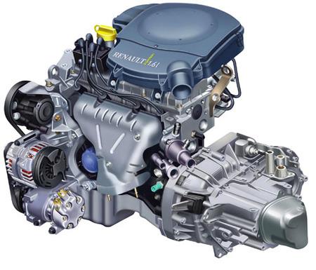 Dacia Sandero - Motor 1.6 MPI