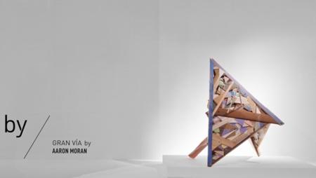 Los escaparates de Zara se unieron con el artista Aaron Moran
