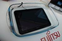 Fujitsu Arrows Tab es pillado en medio de su baño, primeras impresiones en vídeo