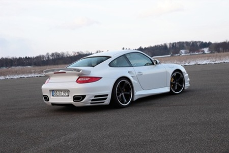 Porsche 911 Turbo, Aerokit por TechArt