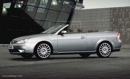 ¿Sería así el Ford Mondeo Cabrio?