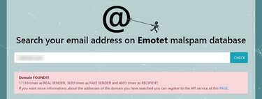 """This website allows you to check if your email or domain has been used in Emotet attacks, """"the world's most dangerous malware"""""""