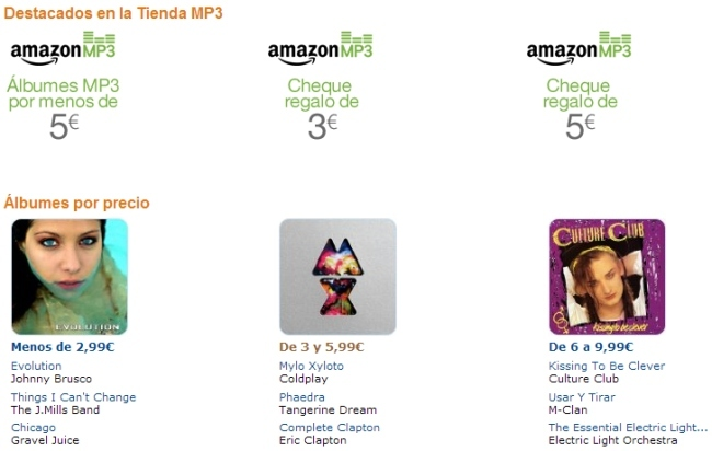 Amazon MP3