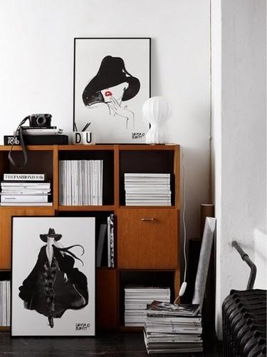 Las ilustraciones de Lovisa Burfitt, perfectas para decorar la casa o la oficina de un fashion victim