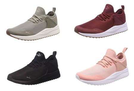 Desde 36,33 euros podemos hacernos con estas  zapatillas Puma Pacer Next Cage gracias a Amazon