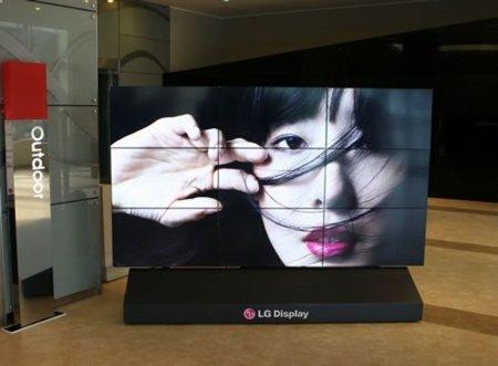 """LG """"ningunea"""" el marco de los televisores"""