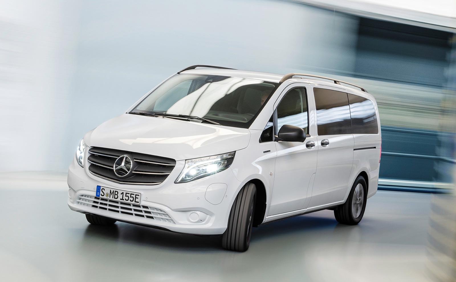 Foto de Mercedes-Benz eVito Tourer 2020 (3/12)