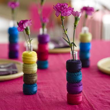 Los centros de mesa más orginales y coloridos para esta primavera
