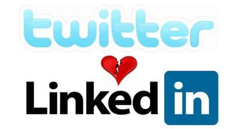 Twitter le declara la guerra a LinkedIn y no dejará publicar automáticamente tweets allí