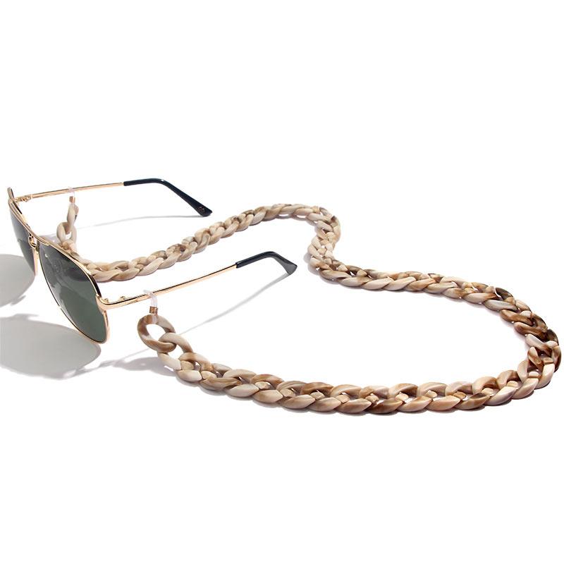 Cadena para gafas acrílica