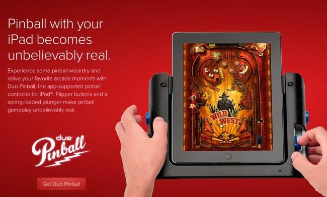 Duo Pinball, otro accesorio para el iPad que no se ajusta a las expectativas