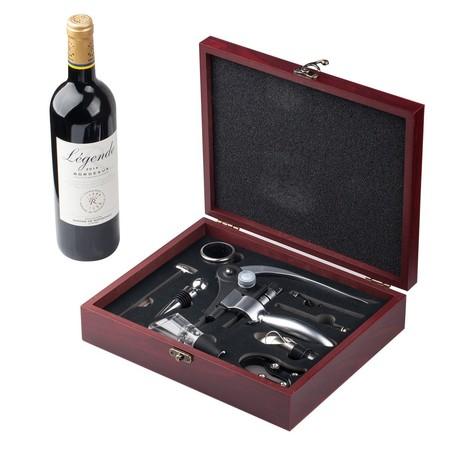 Amantes del vino: el kit de 9 piezas para botellas de vino de Cooko está rebajado a 24,99 euros en una oferta flash de Amazon