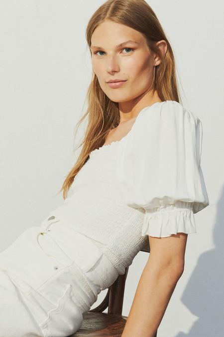 Blusas Blancas De Hm