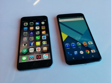 iPhone 6 Plus Nexus 6