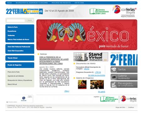 Comienza la Feria Internacional del Libro de Bogotá