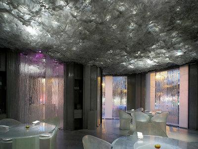 Enigma, el restaurante de Albert Adrià que cuenta con un diseño futurista y envolvente