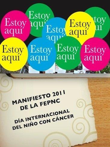 """Manifiesto para el Día internacional del niño con cáncer: """"Estoy aquí"""""""