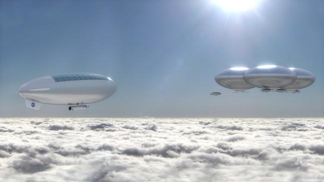 La NASA se plantea la posibilidad de enviar humanos a Venus, para vivir en dirigibles flotantes