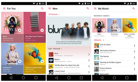 Apple Music Android 2 0 Actualizacion 3