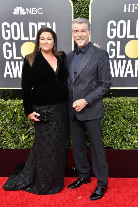 Pierce Brosnan Red Carpet Alfombra Roja Trendencias Hombre Globos De Oro Golden Globes 2020 02