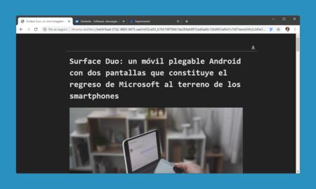 Cómo activar el nuevo modo lectura oculto en Google Chrome, ahora con modo oscuro y opciones de personalización