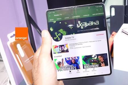 Precios Samsung Galaxy Z Fold3 y Z Flip3 con tarifas Orange y ahorro de hasta 189 euros