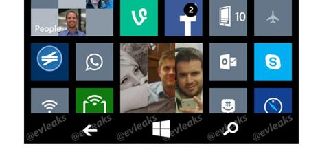 Windows Phone 8.1, con los botones de navegación en pantalla
