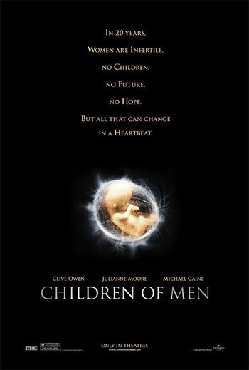Posters de 'Children Of Men' de Alfonso Cuarón