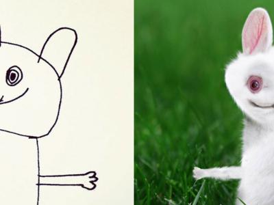 La magia de convertir los dibujos de tu hijo de seis años en hilarantes animales reales