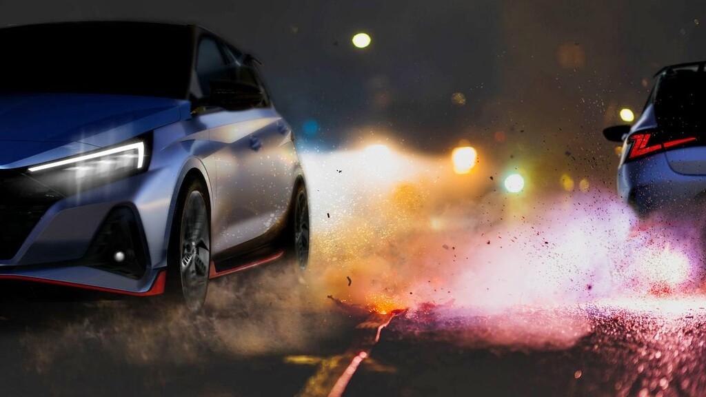 El futuro Hyundai i20 N está en camino, y así ruge su motor de 200 CV haciendo palomitas