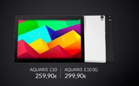 Aquaris E10 Precio