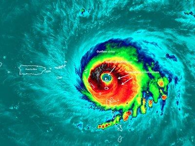 El huracán Irma destruyó el 90% de las estructuras en la isla de Barbuda