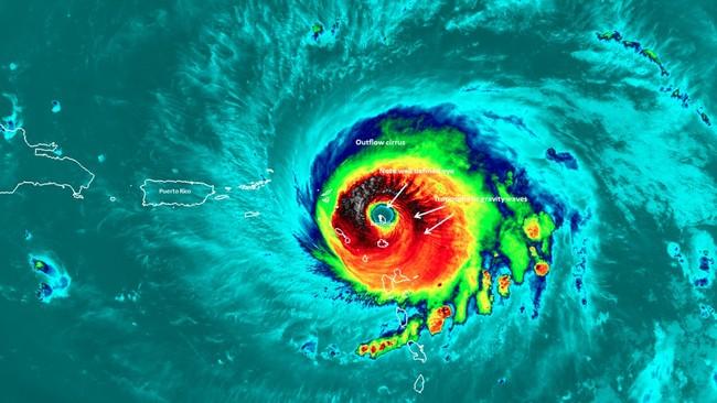 Huracan Irma Barbuda
