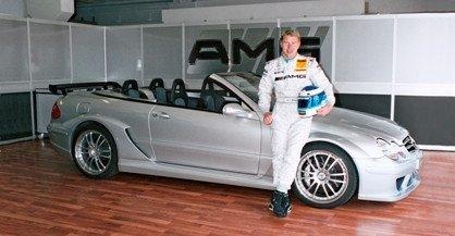 Hakkinen se pide el CLK DTM AMG cabrio