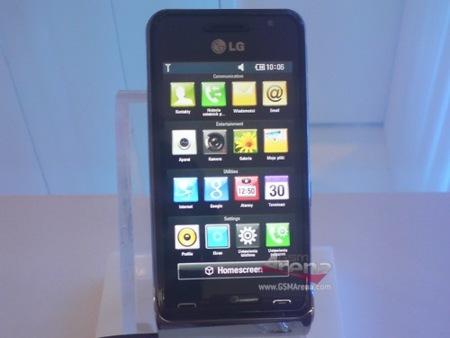 LG GC990 Louvre, con 12 megapíxeles