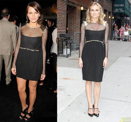 Vestido de Chanel: ¿Diane o Shantel?
