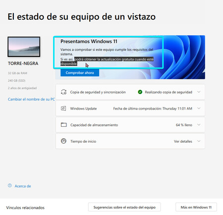 Actualizar Windows 11 Gratis