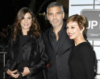 George Clooney y las dos mujeres de su vida