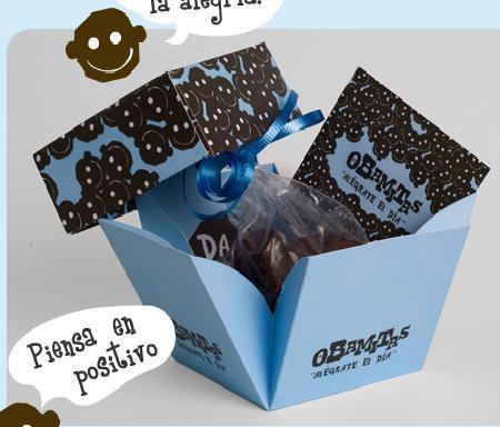 Obamitas: divertidas y artesanales galletas de chocolate