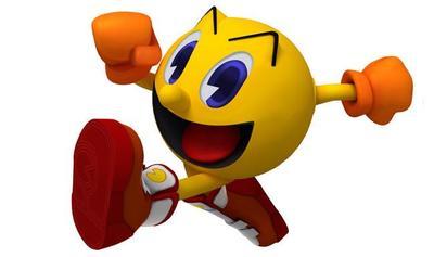 Pac-Man se gradúa en la universidad de Móstoles y lo premian con su propia escultura