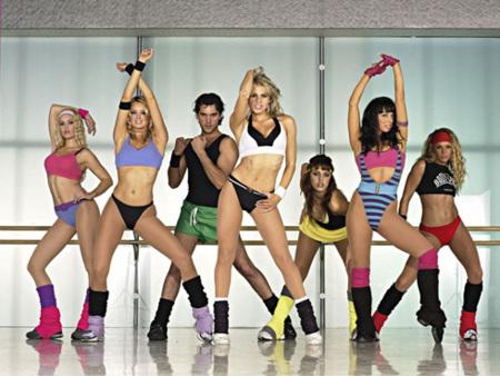 Las clases de aeróbic también son para chicos