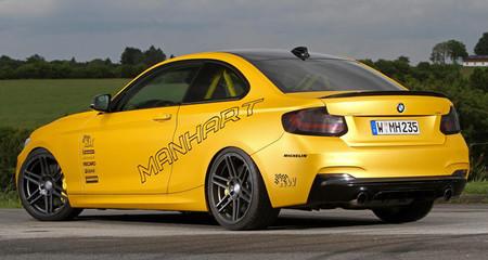 Manhart BMW M235i, todo un arma de circuito