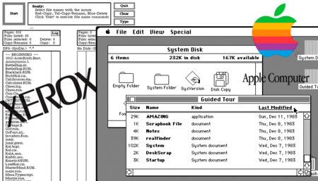 Xerox vs Apple